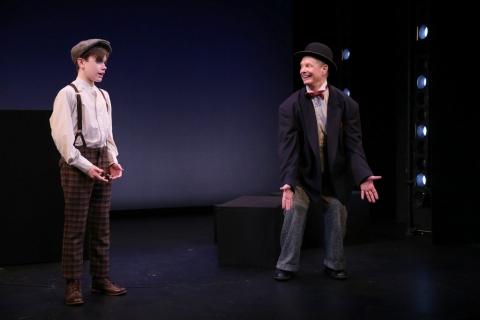 Finn O'Sullivan, Bill Irwin, On Bekett: Exploring The Works of Samuel Beckett, Irish Repertory Theatre