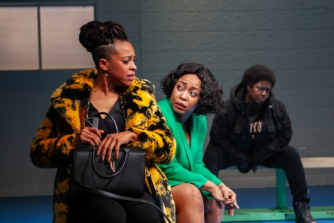 Cherise Boothe, Heather Alicia Simms, Nikiya Mathis, FABULATION, OR THE RE-EDUCATION OF UNDINE, Lynn Nottage, Lileana Blain-Cruz, Pershing Square Signature Center