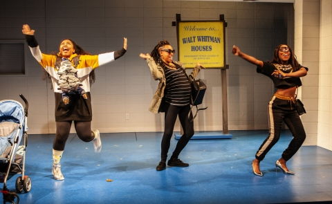 Cherise Boothe, Mayaa Boateng, Nikiya Mathis, FABULATION, OR THE RE-EDUCATION OF UNDINE, Lynn Nottage, Lileana Blain-Cruz, Pershing Square Signature Center