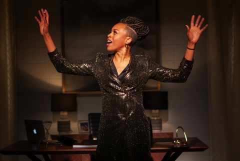 FABULATION, OR THE RE-EDUCATION OF UNDINE, Lynn Nottage, herise Boothe, Lileana Blain-Cruz, Pershing Square Signature Center, Signature Theatre
