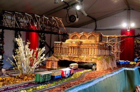 27th NYBG Holiday Train Show, NYBG, Applied Imagination