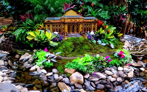 27th Holiday Train Show, NYBG, Stephan A. Schwarzman Building, NY Public Library, Applied Imagination