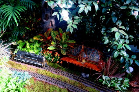 2018 Holiday Train Show, NYBG, Applied Imagination