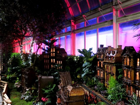 Bar Car Nights, Holiday Train Show 2018, NYBG