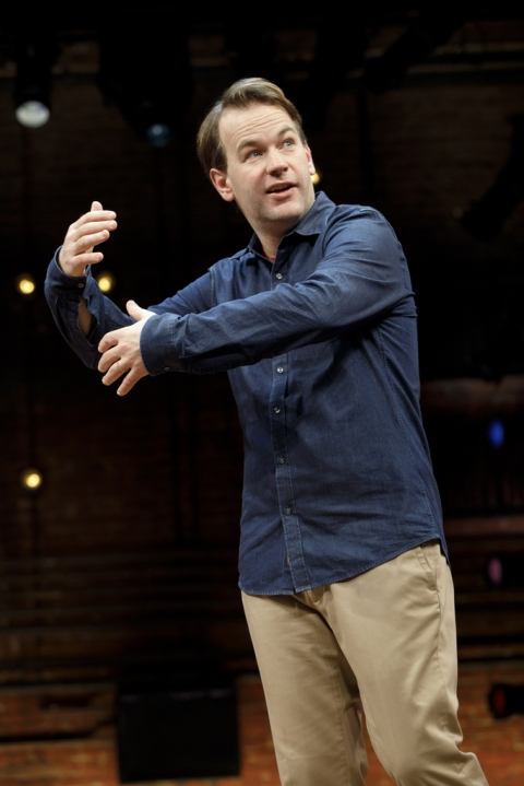 Mike Birbiglia, The New One, Seth Barrish, Cort Theatre