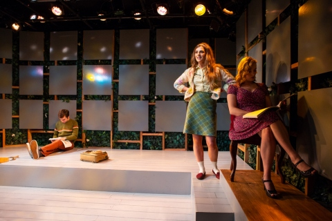 Phil Gillen, Aoife Kelly, Jenny Leona, Irish Reps 'Two by Friel (Lovers: Winners), directed by Conor Bagley