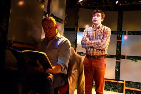 Phil Gillen, Aidan Redmond, Irish Repertory Theatre, Two by Friel (Lovers: Winners), Conor Bagley