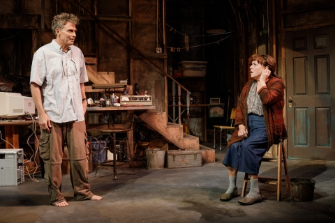 Tim Daly, Tyne Daly, Primary Stages, Theresa Rebeck, Downstairs, Adrienne Campbell-Hold, Cherry Lane Theatre