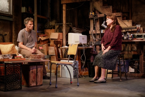 Tim Daly, Tyne Daly, Theresa Rebeck, Adrienne Campbell-Holt, Primary Stages, Cherry Lane Theatre