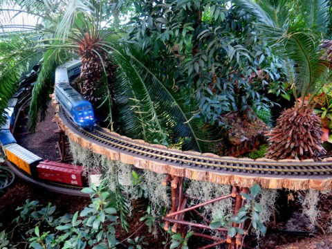 27th New York Botanical Garden Holiday Train Show, Applied Imagination