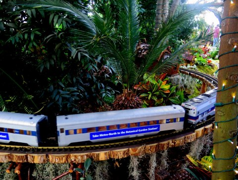 NYBG, 27th Holiday Train Show, Metro North, Applied Imagination