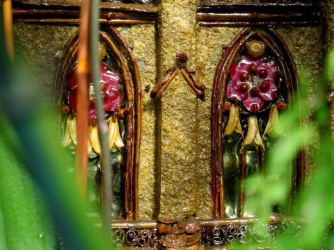St. Patrick's Cathedral, NYBG Holiday Train Show 2018, Enid A. Haupt Conservatory