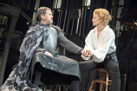Dylan Baker, Janet McTeer, Bernhardt/Hamlet, Roundabout Theatre Company