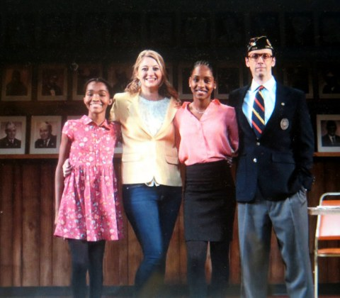 What The Constitution Means to Me, NYTW, Rosedely iprain, Heidi Schreck,Thursday Williams, Mike Iveson,