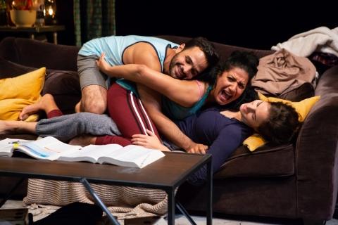 Hiram Delgado, Mykal Monroe, Laura RamadeiAgnes, Jenna Worsham, 59E59 Theaters,Catya McMullen