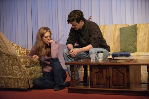 Marin Ireland, Peter Mark Kendall, Blue Ridge, World Premiere, Atlantic Theater Company, Abby Rosebrock, Linda Gross Theater