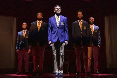 Manhattan Theatre Club, Choir Boy, Tarell Alvin McCraney, Nicholas L. Ashe, Trip Cullman, John Clay III, Caleb Eberhardt, J. Quinton Johnson, Jeremy Pope,