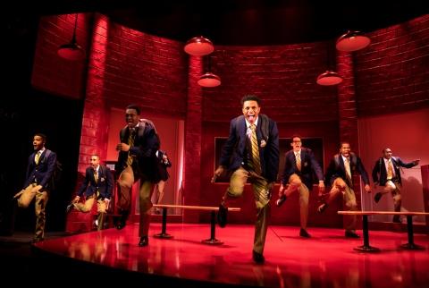 Choir Boy, Tarell Alvin McCraney, Manhattan Theatre ClubNicholas L. Ashe, Jonathan Burke, John Clay III, Caleb Eberhardt, J. Quinton Johnson, Jeremy Pope