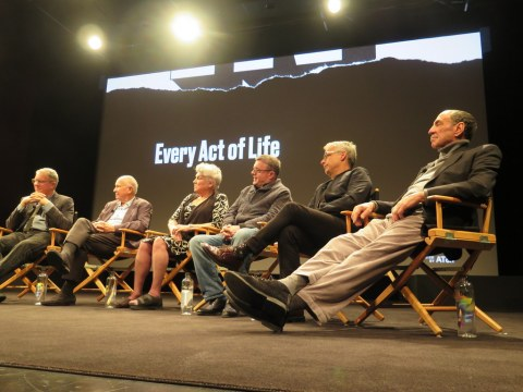 2018 Tribeca FF World Premiere Screening and Q & A, 'Ever Act of Life,' Jeff Kaufman, Terrence McNally, Tyne Daly, Nathan Lane, Joe Mantello, F. Murray Abraham