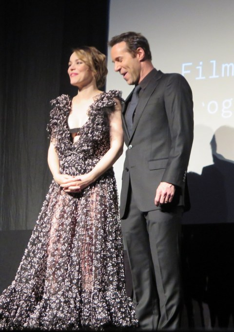 Rachel McAdams, Alessandro Nivola, 2018 Tribeca Film Festival US Premiere and Q & A Screening