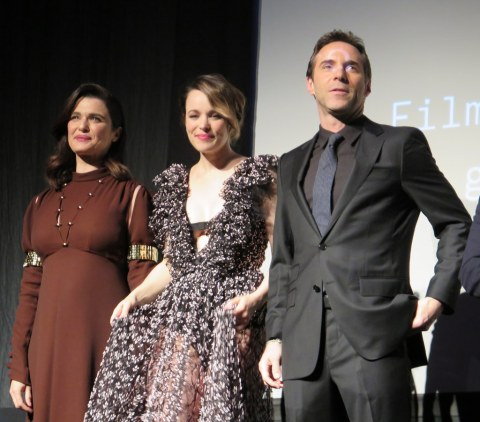 Rahel Weisz, Rahel McAdams, Alessandro Nivola, Disobedience, 2018 Tribeca Film Festival US Premiere
