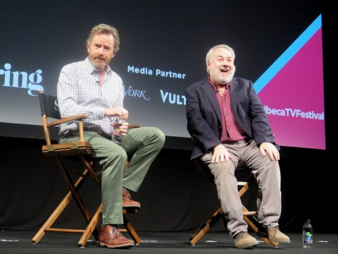Tribeca TV Festival 2018, Bryan Cranston, David Edelstein, Tribeca Talks, Tribeca TV