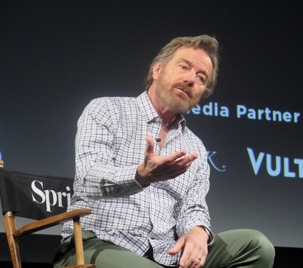 Bryan Cranston, Tribeca Talks, Tribea TV Festival 2018