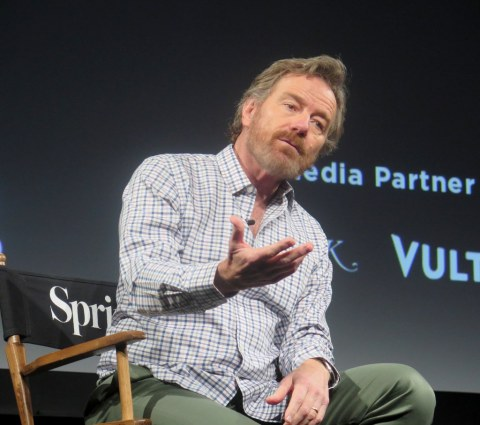 Bryan Cranston, Tribeca Talks, Tribea TV Festival 2018
