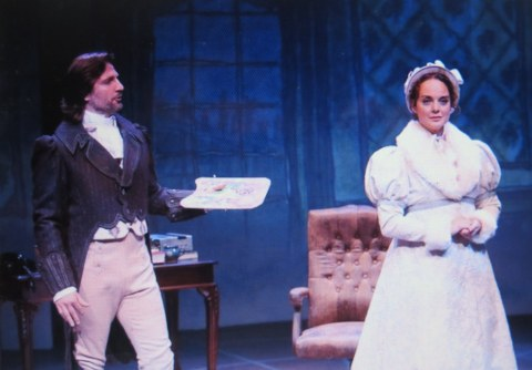 John Cudia, Melissa Errico, Irish Repertory Theatre, On a Clear Day You Can See Forever, Charlotte Moore