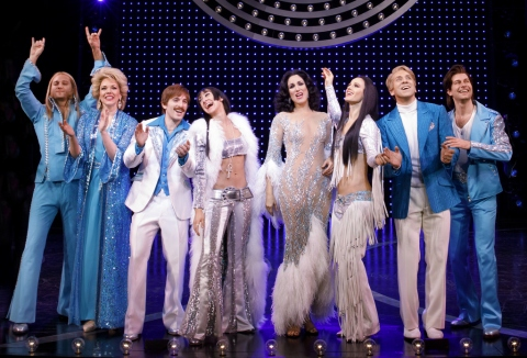 The Cher Show, Stephanie J. Block, Teal Wicks, Micaela Diamond, Jarrod Spector, Emily Skinner, Michael Berresse