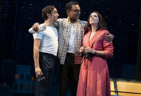 , Merrily We Roll Along, Stephen Sondheim, Fiasco Theater, Roundabout Theatre Company, George Furth, Merrily We Roll Along, Jessie Austrian Brittany Bradford, Ben Steinfeld, Emily Young, Paul L. offey Manu Narayan, Noah Brody,