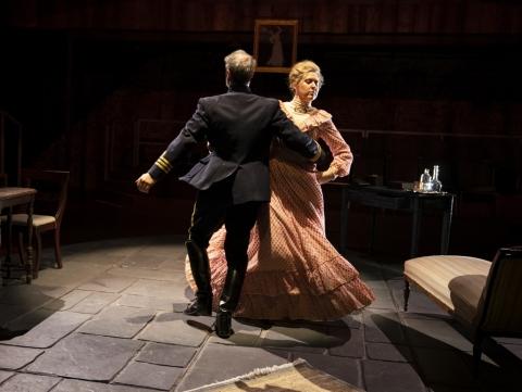 Christopher Innvar, Cassie Beck, Rich Topol, Victoria Clark, The Dance of Death, August Strindberg, Conor McPherson,
