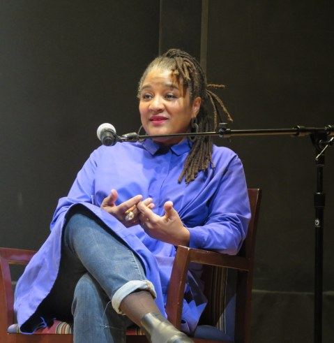 Lynn Nottage, NYPL for the Performing Arts, LPTW, Bruno Walter Auditorium, Elisabeth Vincentelli