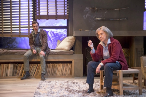 Patricia Highsmith, Switzerland, Dan Foster, Joanna Murray-Smith, 59E59 Theaters, Daniel Petzold, Peggy J. Scott, Hudson Stage Company