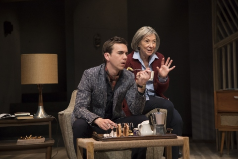 Patricia Highsmith, Switzerland, 59E59 Theaters, Hudson Stage Company, Daniel Petzold, Peggy J. Scott