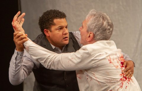 Brandon J. Dirden, Rocco Sisto, 'The Tragedy of Julius Caesar,' Theatre for a New Audience