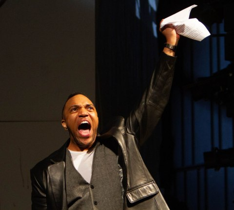 Jordan Barbour, 'The Tragedy of Julius Caesar,' Theatre for a New Audience, Shana Cooper