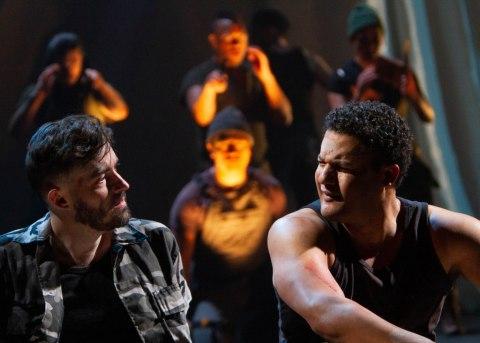 Matthew Amendt, Brandon J. Dirden, 'The Tragedy of Julius Caesar,' Theatre for a New Audience