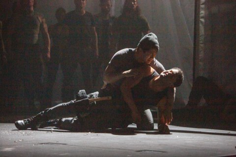 Julian Remulla, Brandon J. Dirden in 'The Tragedy of Julius Caesar,' Theatre for a New Audience
