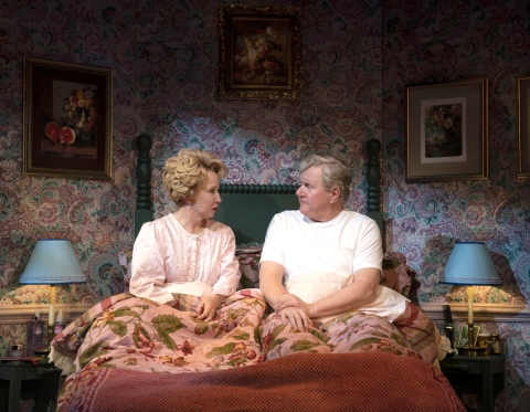 Debra Jo Rupp, Dan Daily in 'The Cake,' Lynne Meadow, Bekah Brunstetter, MTC