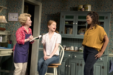 Debra Jo Rupp, Genevieve Angelson, Marinda Anderson, 'The Cake,' Bekah Brunstetter, Lynne Meadow