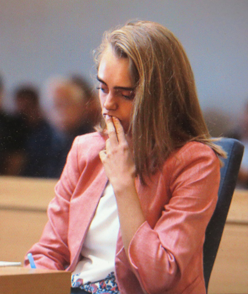 Michelle Carter, ' Love You, Now Die: The Commonwealth Vs. Michelle Carter,' directed by Erin Lee Carr, SXSW 2019 Documentary World Premiere, Michelle Carter, 'I Love You, Now Die: The Commonwealth Vs. Michelle Carter, Erin Lee Carr, HBO
