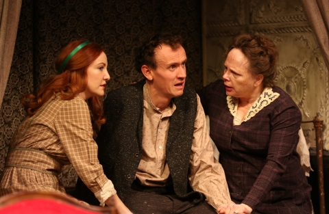 Sarah Street, Ed Malone, Maryann Plunkett, Irish Repertory Theatre's 2019 production, Juno and the Paycock, Neil Pepe