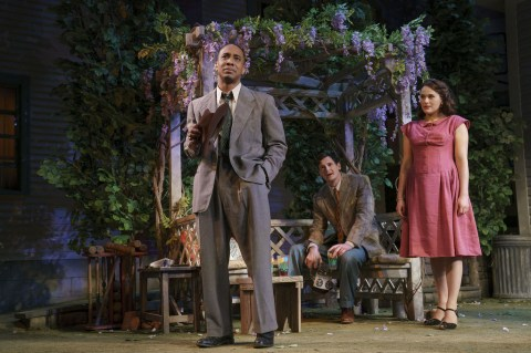 Hampton Fluker, Benjamin Walker, Francesca Carpanini, Jack O'Brien, Arthur Miller, All My Sons
