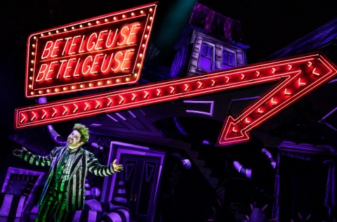 Alex Brightman, Eddie Perfect, Scott Brown, Anthony, Alex Timbers Beetlejuice
