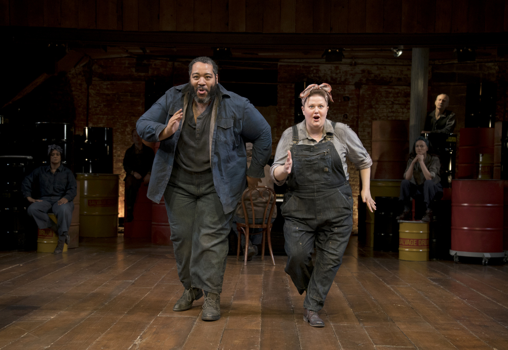 Eddie Cooper, Kara Mikula in 'The Cradle Will Rock,' John Doyle, CSC