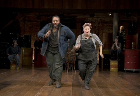 Eddie Cooper, Kara Mikula in 'The Cradle Will Rock,' John Doyle, CSC