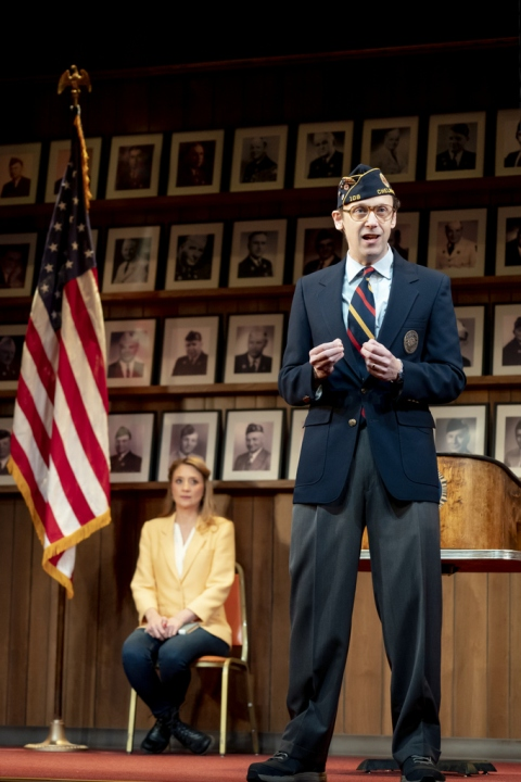 Mike Iverson, Heidi Schreck, What the Constitution Means to Me, Oliver Butler, Helen Hayes Theater