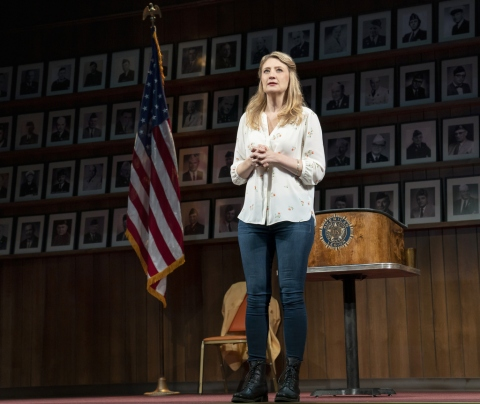 Heidi Schreck, What the Constitution Means to Me, Oliver Butler, Helen Hayes Theater