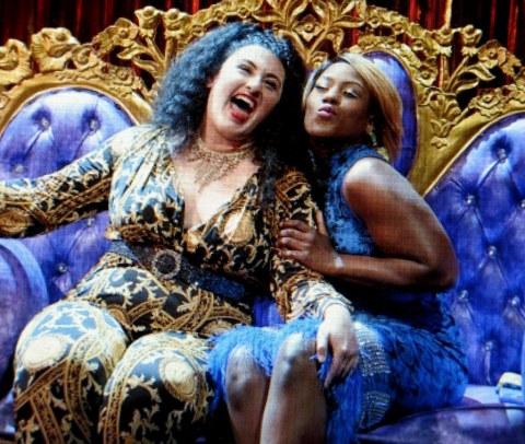 Simone Recasner, Crystal Lucas-Perry, 'Ain't No Mo,' Stevie Walker-Webb, Jordan E. Cooper, Public Theater